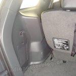 Isuzu MU-7 luggage compartment