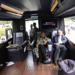 Luxura Magical India Bus with passengers on board