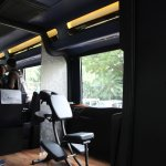 Luxura Magical India Bus cabin
