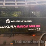 Luxura Magical India Bus side