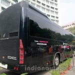 Luxura Magical India Bus rear three quarters