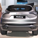 Maserati Levante rear profile