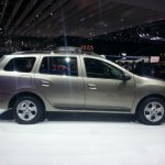 2013 Dacia Logan MCV side profile