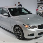 2014 BMW 3 Series GT front quarter right