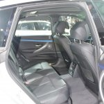 2014 BMW 3 Series GT rear seat