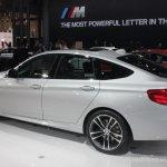 2014 BMW 3 Series GT rear quarter left