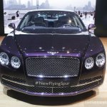 2014 Bentley Continental Flying Spur front