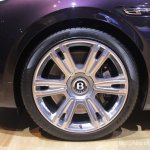 2014 Bentley Continental Flying Spur wheels