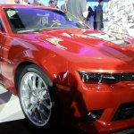 2014 Chevrolet Camaro SS front quarter