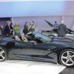 2014 Chevrolet Corvette Stingray convertible side