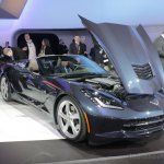 2014 Chevrolet Corvette Stingray convertible engine bay