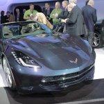 2014 Chevrolet Corvette Stingray convertible front right quarter