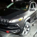 2014 Jeep Cherokee front quarter left