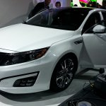 2014 Kia Optima Hybrid front quarter left