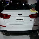 2014 Kia Optima Hybrid rear