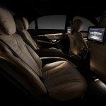 2014 Mecedes S Class rear seats