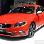 2014 Volvo S60 R-Design front quarter left