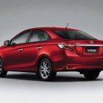 2014 Toyota Vios rear three quarters
