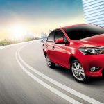 2014 Toyota Vios in action