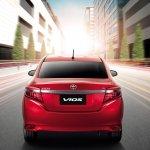 2014 Toyota Vios rear