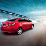 2014 Toyota Vios on the roads