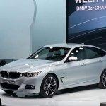 BMW 3 series GT Geneva motor show live front quarter