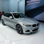 BMW 3 series GT geneva motor show live front quarter right