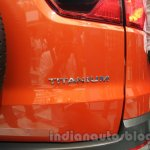 Ford Ecosport Titanium badge