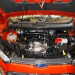 Ford Ecosport engine bay