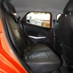 Ford Ecosport rear seat entry