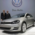 2015 VW Golf launched at New York Auto Show