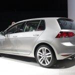 2015 VW Golf rear three quarters