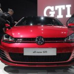 2015 VW Golf GTI front view