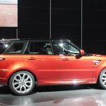 2014 Range Rover Sport side view
