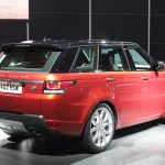 2014 Range Rover Sport rear three quarter left