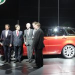 2014 Range Rover Sport with its creators