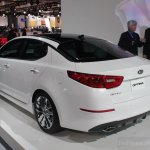 2014 Kia Optima rear three quarter