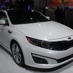 2014 Kia Optima front three quarter