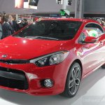 2014 Kia Forte Koup front three quarter