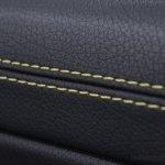 Mercedes CLA yellow seat stitching