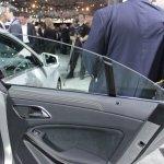 Mercedes CLA frameless windows