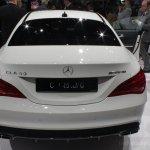 Mercedes CLA 45 AMG rear