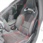 Mercedes CLA 45 AMG driver seat