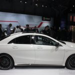 Mercedes CLA 45 AMG side view