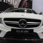 Mercedes CLA 45 AMG front fascia