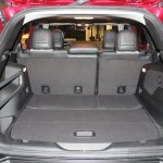 2014 Jeep Cherokee seat folded down