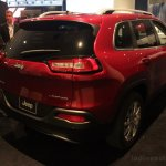 2014 Jeep Cherokee rear three quarter