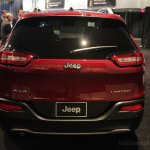 2014 Jeep Cherokee rear fascia lights off