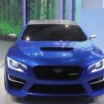 Subaru WRX concept head-on
