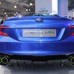 Subaru WRX concept rear fascia